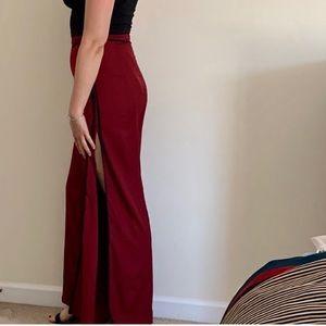2/$22 NWT Windsor Burgundy Pants